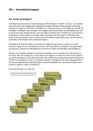 3N — Innovationstrappen - projekt innovation i folkeskolen