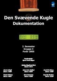 Den Svævende Kugle, Dokumentation [pdf - sorenr.dk
