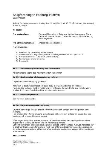 Referat 530 HB møde 2012-05-22 - Boligkontoret Danmark