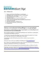Kort Nyt - Dansk Erhverv