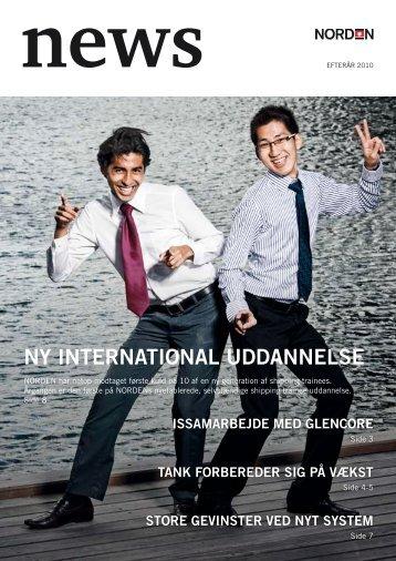 Ny iNterNatioNal uddaNNelse - Dampskibsselskabet NORDEN A/S