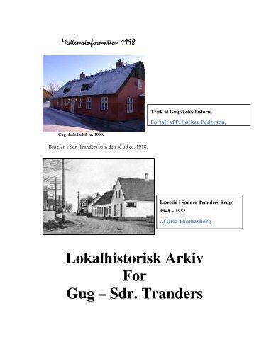 Sdr. Tranders - Gug-Sønder Tranders Lokalhistoriske Arkiv