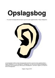 Ansøgning om hjælp til høreapparater - Region Midtjylland