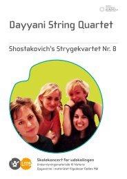 Dayyani String Quartet - Levende Musik i Skolen