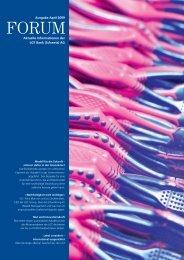 Aktuelle Informationen der LGT Bank (Schweiz) AG Ausgabe April 2009