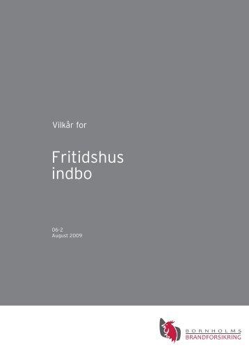 Fritidshus indbo - Bornholms Brandforsikring A/S