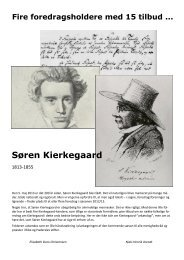 Søren Kierkegaard - Haderslev Stift