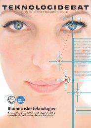 Biometriske teknologier - Teknologirådet
