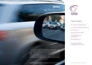 Pjece Bilen og Forsikring - Forsikring & Pension