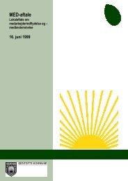 MED-aftale - Gentofte Kommunalforening