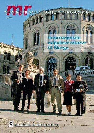 Internasjonale valgobservatører til Norge - Den norske ...