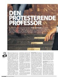 En af Tysklands førende danmarkskendere, BERND HENNINGSEN ...