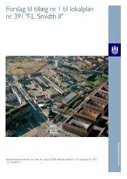 Forslag til tillæg nr. 1 til lokalplan nr. 391