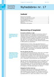 Nyhedsbrev nr. 17 - Gentofte Hospital