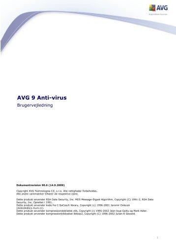 AVG 9 Anti-virus