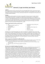 Informatie en regels betreffende zieke kinderen. - St. Kinderopvang ...