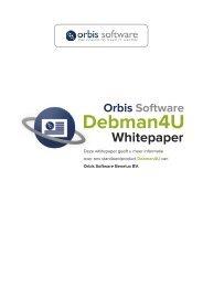 Debman4U - Orbis Software Benelux BV