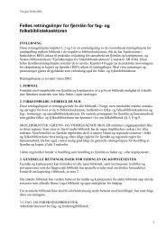 Felles retningslinjer for fjernlån for fag- og folkebiblioteksektoren