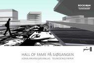 hall of fame på sjøgangen - Rockheim
