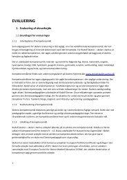 EVALUERING - Rudolf Steiner Skolen i Århus