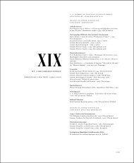 XIX - Ny Carlsbergfondet