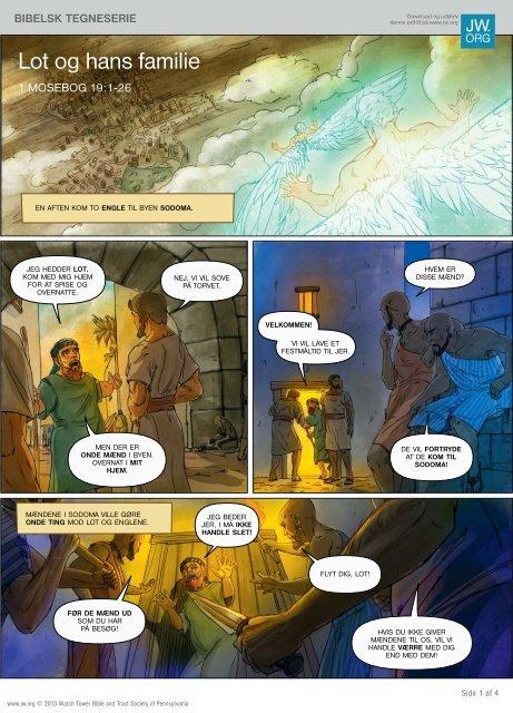 Læs denne bibelske tegneserie online eller på en udskrift af pdf-filen.