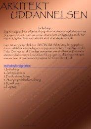 Download File - ARKITEKT UDDANNELSEN - Home - Weebly
