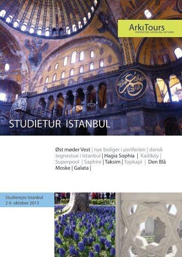 STUDIETUR ISTANBUL - Byens Netværk