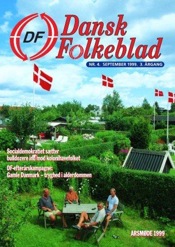Gamle Danmark - Dansk Folkeparti