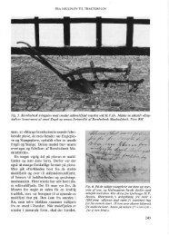 Fra hjulplov til traktorplov - Bornholms Historiske Samfund