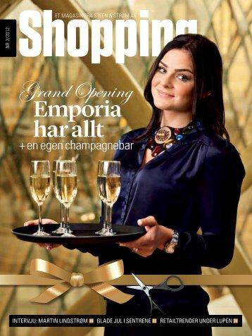 Emporia har allt GrandOpening - Steen & Strøm