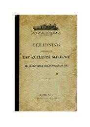 VEJLEDNING - Jernbanearkivalier