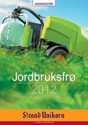 Jordbruksfrø 2012 (PDF) - Norgesfôr
