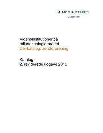 Jordforurening - Ecoinnovation