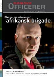 afrikansk brigade - Hovedorganisationen af Officerer i Danmark