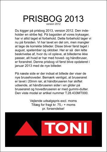 PRISBOG 2013 - Toni