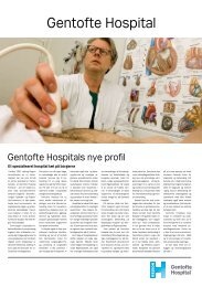 Download avisen her - Gentofte Hospital