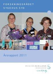 Årsrapport 2011 - Region Sjælland