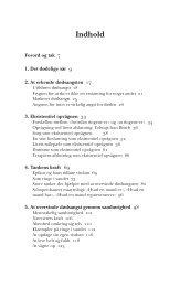 Indhold - Køb bogen på gyldendal.dk