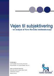 4. Subjektet i Novo Nordisk - inter-esse.org