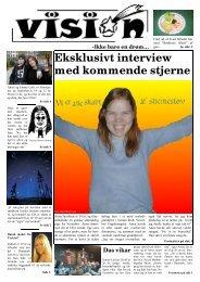 Eksklusivt interview med kommende stjerne - Matthæusgades Skole
