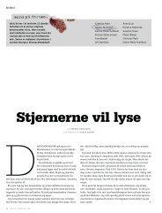 Stjernerne vil lyse - Kongevej.dk