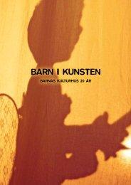 BARN I KUNSTEN - Bergen kommune