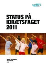 Du kan downloade SPIF-rapporten (webudgave) - Idræt i folkeskolen