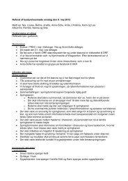 Referat af bestyrelsesmøde onsdag den 9. maj 2012 Mødt op: Nia ...