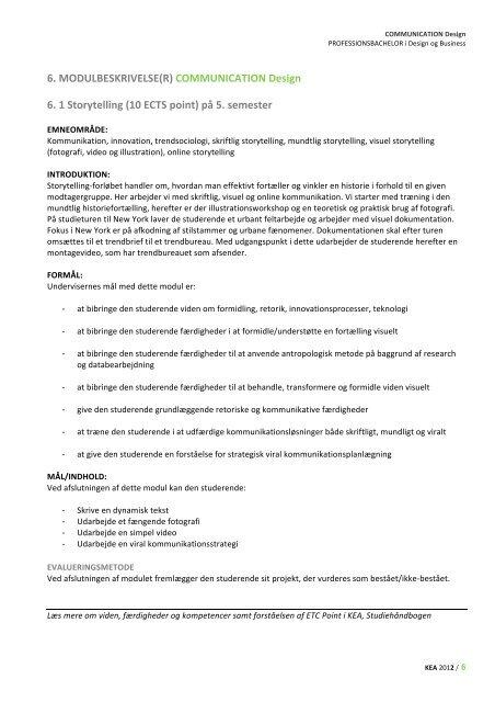 COMMUNICATION Design - Keablogs