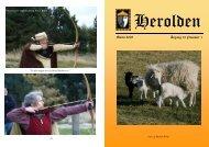 Marts 2008 Årgang 12 Nummer 1 - Herolden