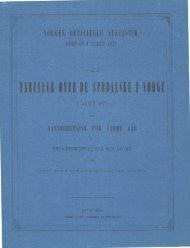 Tabeller over de Spedalske i Norge i Aaret 1871 samt Aarsberetning ...