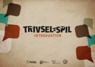 Introduktion til Trivsel på spil - Skole og Forældre