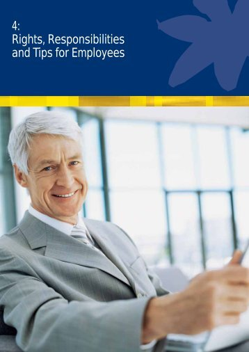 4: Rights, Responsibilities and Tips for Employees - Cancer Council ...